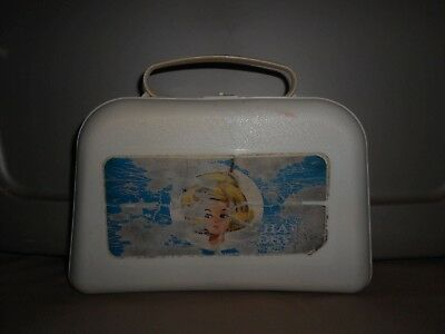 Vintage 1960s Tressy Hair Dryer with Hair Curlers Accessories