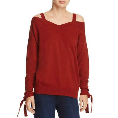 Inc Womens Metallic Off The Shoulder V Neck Sweater Top Bhfo 3877