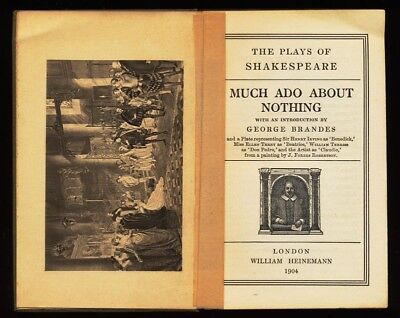 Much ado About Nothing. The Plays of Shakespeare. Shakespeare, William and Georg