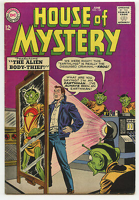 JERRY WEIST ESTATE: HOUSE OF MYSTERY #135 (DC 1963) VF condition! NO RES!