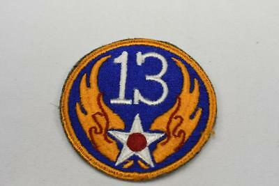 Vintage 13th Air Force WW2  Patch