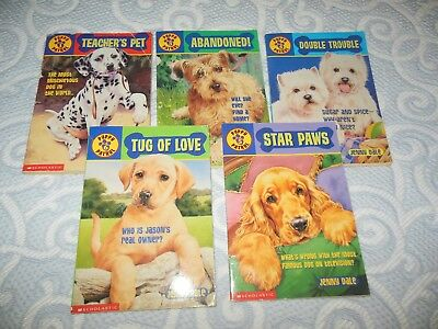 Puppy Patrol Paperback Chapter Books ~ Lot 5