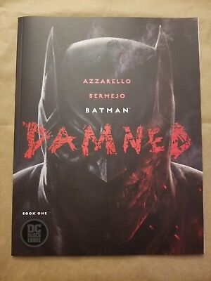 Batman Damned #1 (1st Print) DC Black Label Uncensored Bermejo Cover A SOLD OUT!