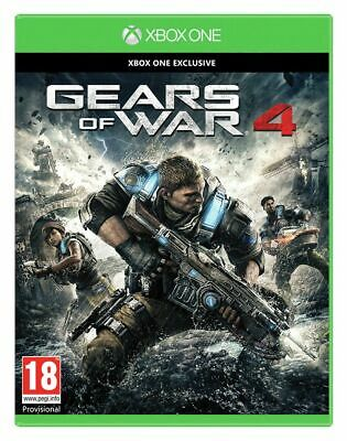Gears of War 4 Microsoft Xbox One Standard Edition 18+ Years