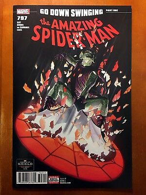 AMAZING SPIDER-MAN #797 ALEX ROSS COVER A 1st PRINT RED GOBLIN!