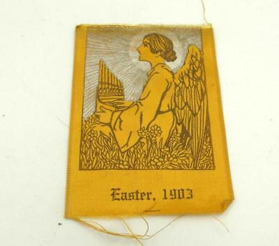 Antique 1903 Ribbon With An Angel Scarce