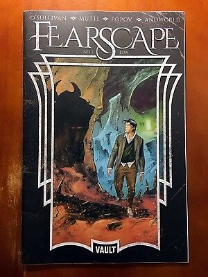 Fearscape #1 Andrea Mutti Cover B Vault Comics!