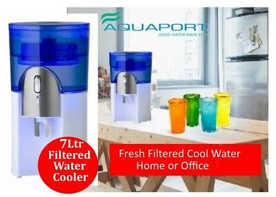 Water Cooler Aquaport AQP 24CS  7Ltr with Carbon Water purifying Filter -White
