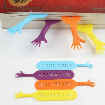 4pcs Cute Help Me Bookmarks Pad Note Stationery Novelty Book Kids Gift