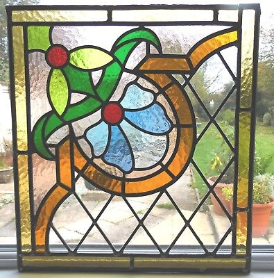 Fully Restored Original Stained Glass Panel - Ref Sg332