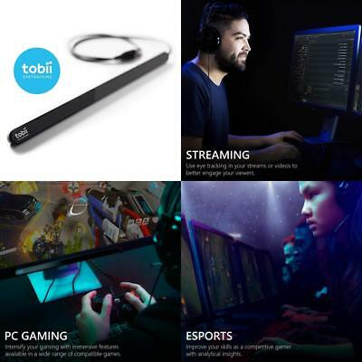 Tobii Eye Tracker 4C - The Game-changing Tracking Peripheral for Streaming,...