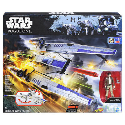 Nerf B7101 Star Wars Rogue One Rebel U-Wing Fighter Playset Toy For Ages 4+