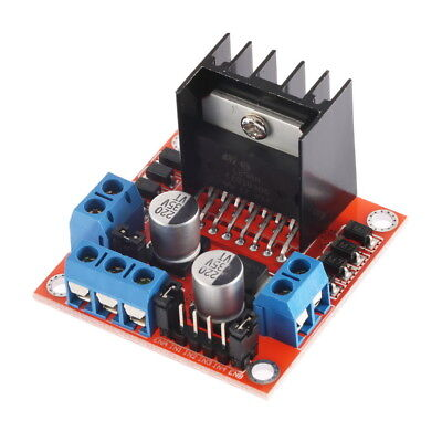 Dual H Bridge L298N Stepper Motor Driver Controller Board Module Arduino @UK