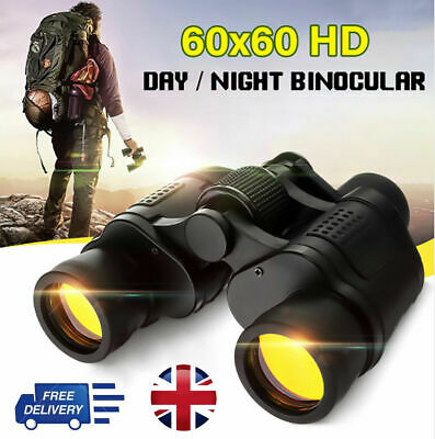 50X60 Portable Monocular HD Optical Lens Zoom Telescope+Tripod For Smartphone UK