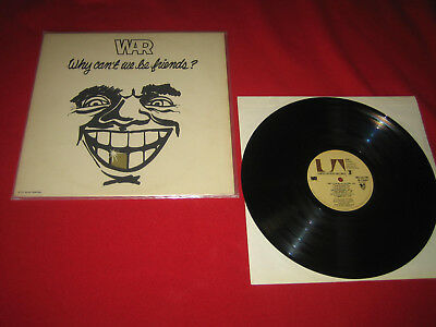 FUNK   1 Lp   WAR   WHY CAN'T WE BE FRIENDS  US-PRESS  1975