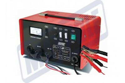 Maypole Heavy Duty Steel 20 Amp 12v/24v Car Van Tractor Battery Charger #MP730