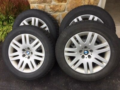 Snow tires 235 / 60 R 18 - Nankang SV1 on BMW Factory rims 5-120 bolt pattern