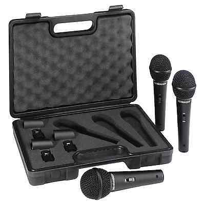 Behringer XM1800S Dynamic Handheld Microphone (3 Pack) | Free UK Delivery