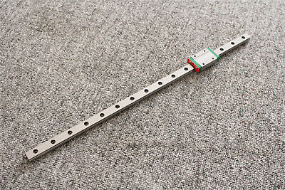 CNC Part MR9 9mm Linear Rail Guide MGN9 100-600mm with mini MGN9H Slide Block