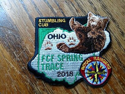 2018 OHIO ROYAL RANGERS FCF SPRING TRACE Patch