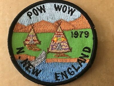 1979 N. New England ROYAL RANGERS Pow Wow Patch