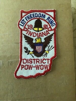 1981 Indiana ROYAL RANGERS Pow Wow Patch