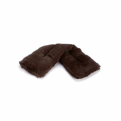Warmies Brown Marshmallow Fluffy Microwaveable Soothing Neck Warmer Cushion Gift