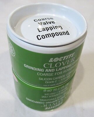 LOCTITE CLOVER 4oz (2oz 2-pack) GRINDING/LAPPING COMPOUND SILICON CARBIDE COURSE