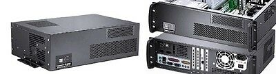 """3U (Short 11.81"""")(Wall-Rack Mount Chassis)(5.25""""+3xHDDs Bay)(ATX / ITX) Case NEW"""