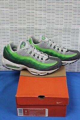 113361f016e7 Nike Air Max 95 Prem Rejuvenation Green Bean Anthracite Grass 313516 301 US  8 DS