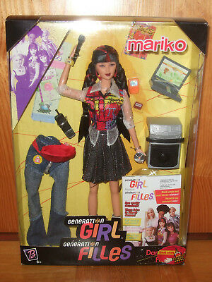 Barbie - Generation Girl Mariko NRFB / OVP 1999 #28258 - neu