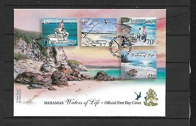 (h458) BAHAMAS, 2003 Stamp FDC, Water of Life