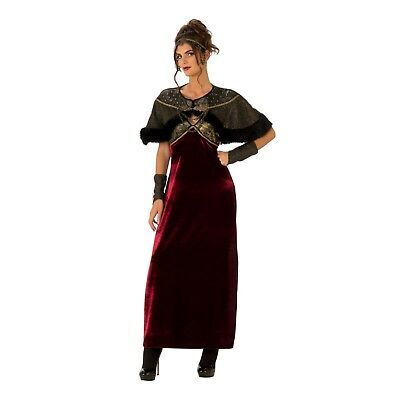 Adult Women's Medieval Victorian Game Of Thrones Halloween Costume Dress S M L