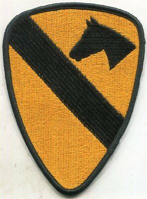 Vietnam Era US Army 1st Cavalry COLOR Patch