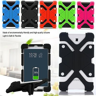 """Universal Silicone Cover Case Stand Acer Iconia One 10 B3-A30 /B3-A40 10.1""""inch"""