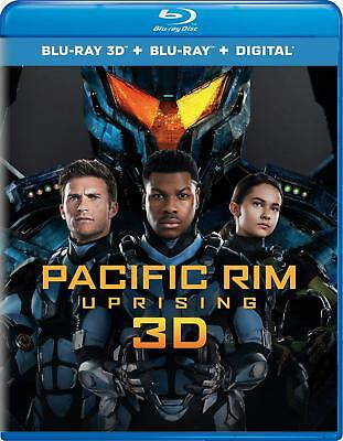 Pacific Rim Uprising (3D Blu-ray Disc ONLY, 2018)