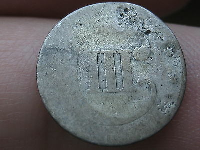 1851-1853 Three 3 Cent Silver- Scarce Type Coin