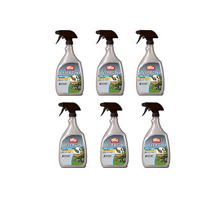 Ortho Deer-B-Gon Deer and Rabbit Repellent RTU 24 Ounce Spray Bottle (6 Pack)
