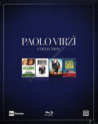 Paolo Virzì Collection - COFANETTO 4 BLU RAY DISC NUOVO