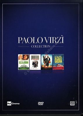 Paolo Virzì Collection - COFANETTO 4 DVD NUOVO