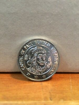 Paul Bunyan 1971 Brainerd Mn Centennial Coin Capital of Paul Bunyan Land L@@K!!!