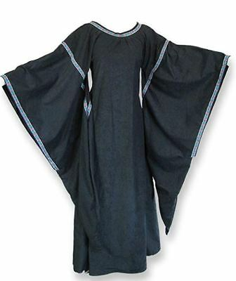 Game of Thrones Renfaire Costume Renaissance Dress Medieval Fashion Wing Sleeve