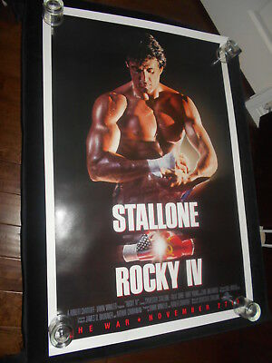 Rocky IV   Original  Rolled One Sheet  Poster Sylvester Stallone