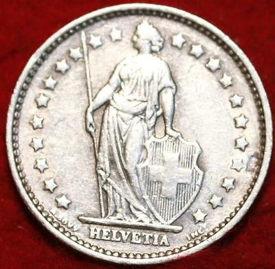 1967 Switzerland 1 Franc Silver Foreign Coin