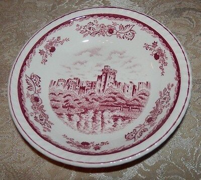 Vintage HARMONY HOUSE Berry Bowl Balmoral BRITAIN CASTLES Made in Japan