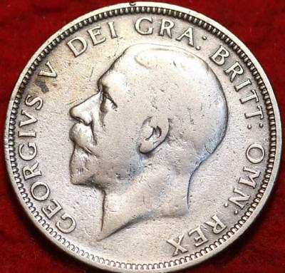 1928 Great Britain Florin Silver Foreign Coin