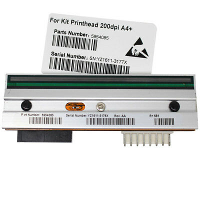 AU New Printhead For CAB A4+ Thermal Barcode Lable Printer 203dpi P/N 5954085
