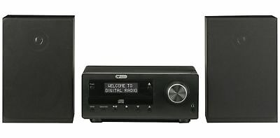 Acoustic Solutions Bluetooth DAB CD Micro System - Black.