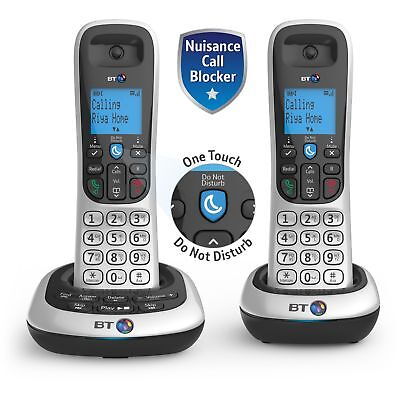 BT 2700 Cordless Telephone with Answer Machine - Twin