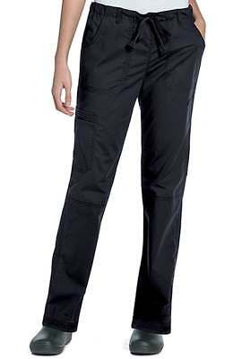 60744c1ed82 Landau NEW Deep Black Women s Size XS Cargo Stretch Drawstring Pants  45   100